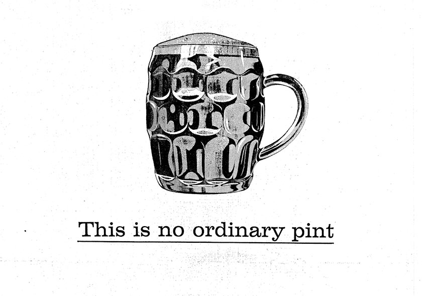 This is no ordinary pint.