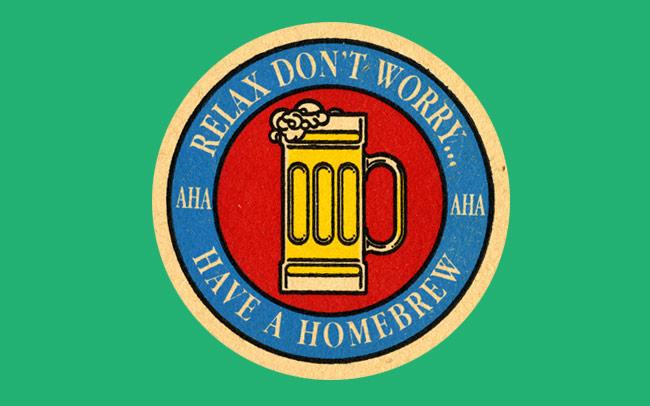 Homebrew beer mat.