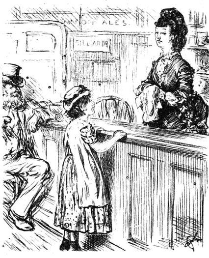 Barmaid.