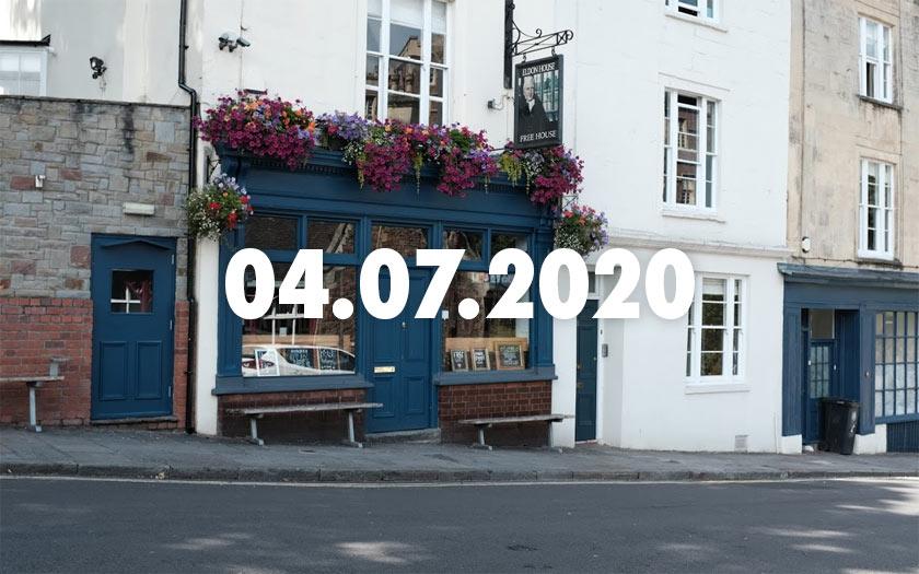 The Eldon House pub.