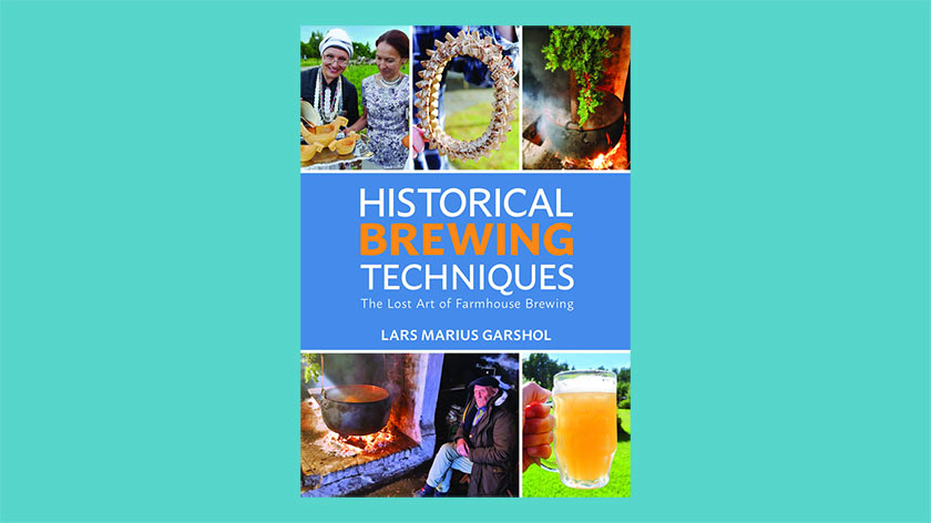 The cover of Historical brewing techniques.