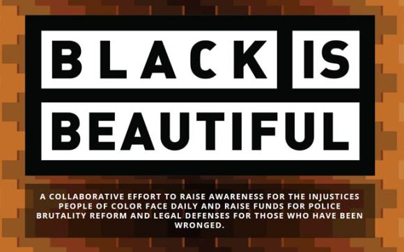 Black is Beautiful label.