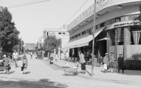 A street in Palestine.