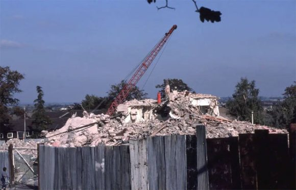 Demolition of the Windsock