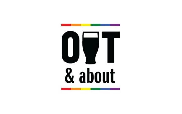 Out and about logo.