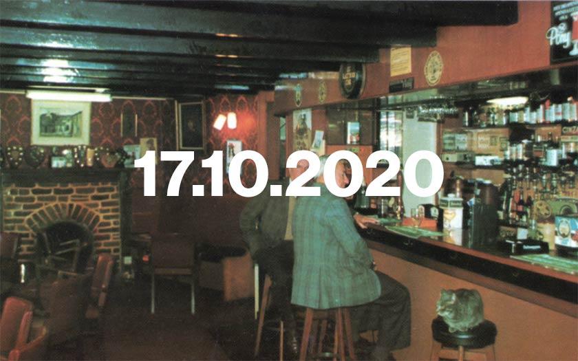 A Cornish pub in the 1970s.