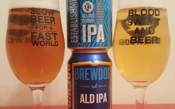 Aldi craft beer.