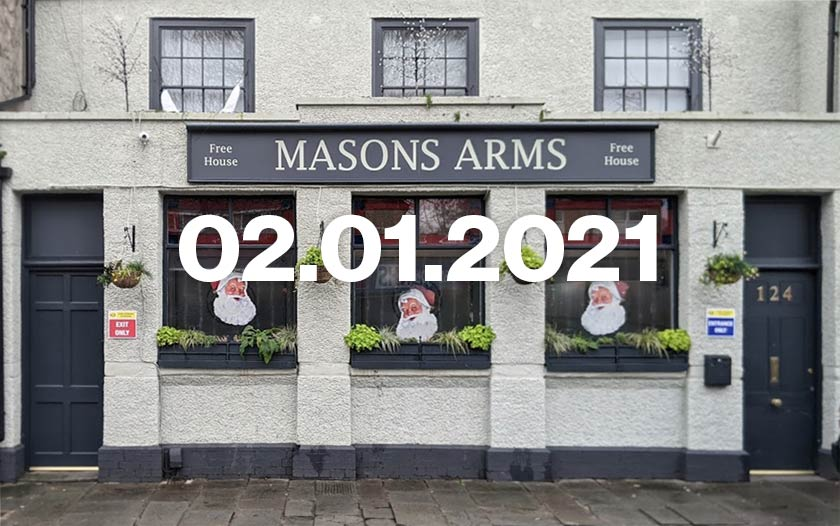 The Mason's Arms, Stapleton, Bristol.
