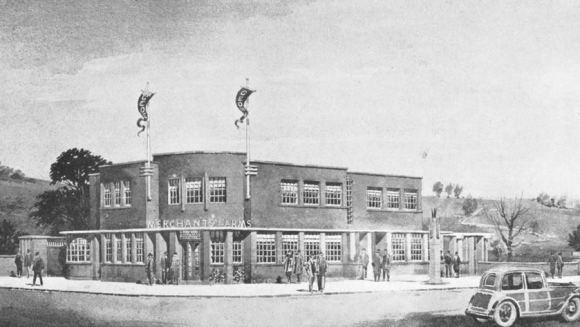 A 1930s pub.