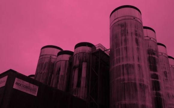 Molson Coors brewery at Burton.