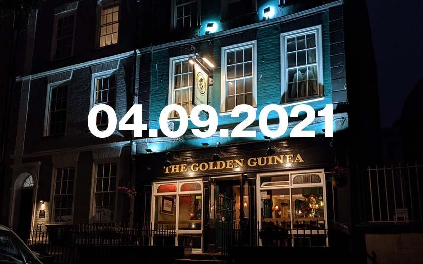 The Golden Guinea pub in Bristol.