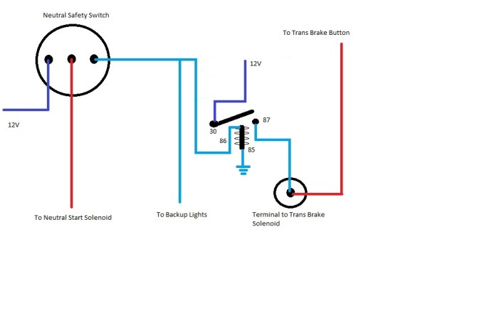 trans brake wiring diagram  betts wiring harness  bathroom