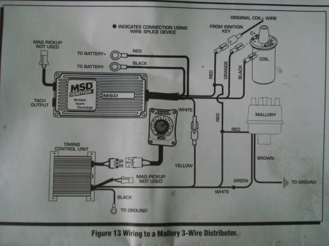wiring a procomp billet distributor 3 wires  moparts