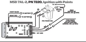 Mopar P4876731 (MSD 7AL2) Ignition Wiring Instructions