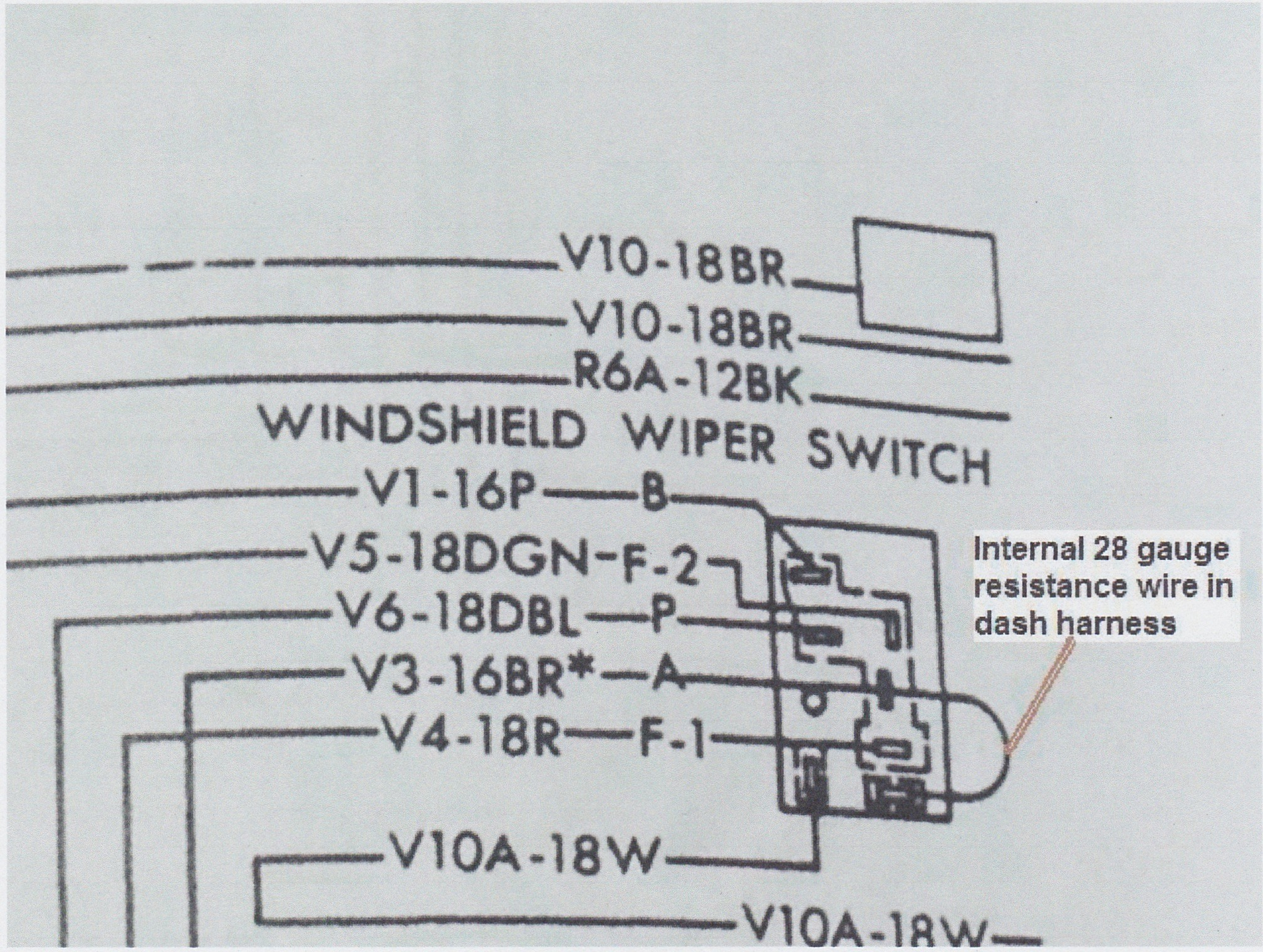 Windshield Wiper Switch Wiring Diagram Free Download