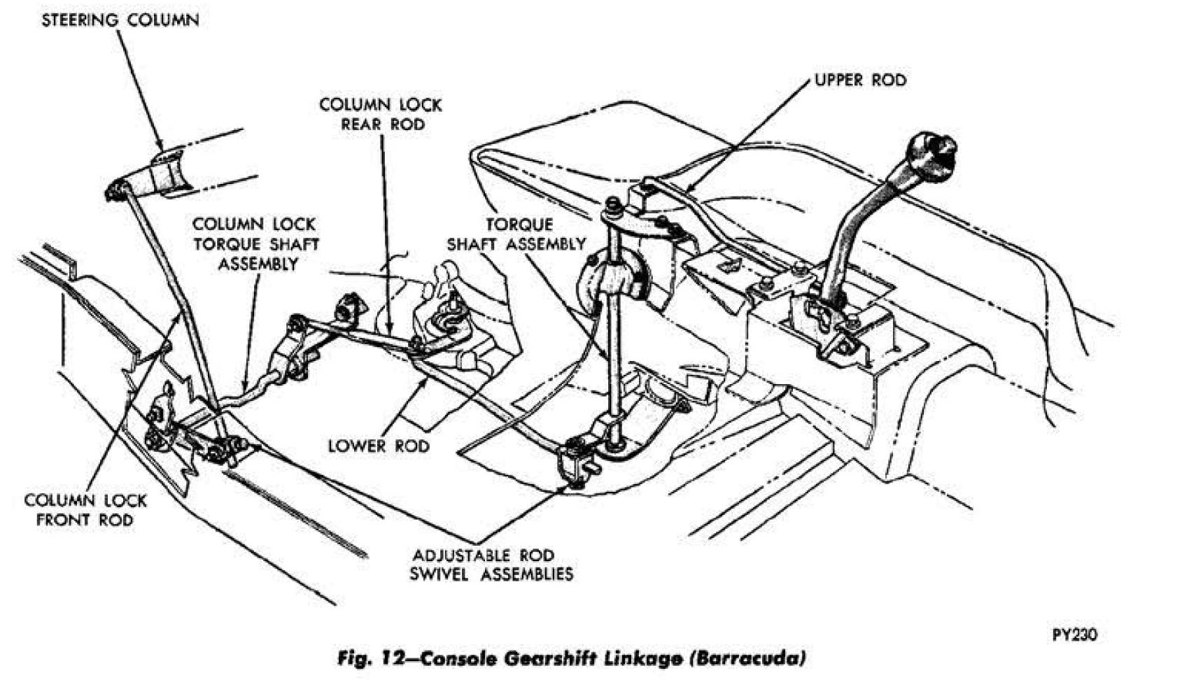 Challenger Steering Column