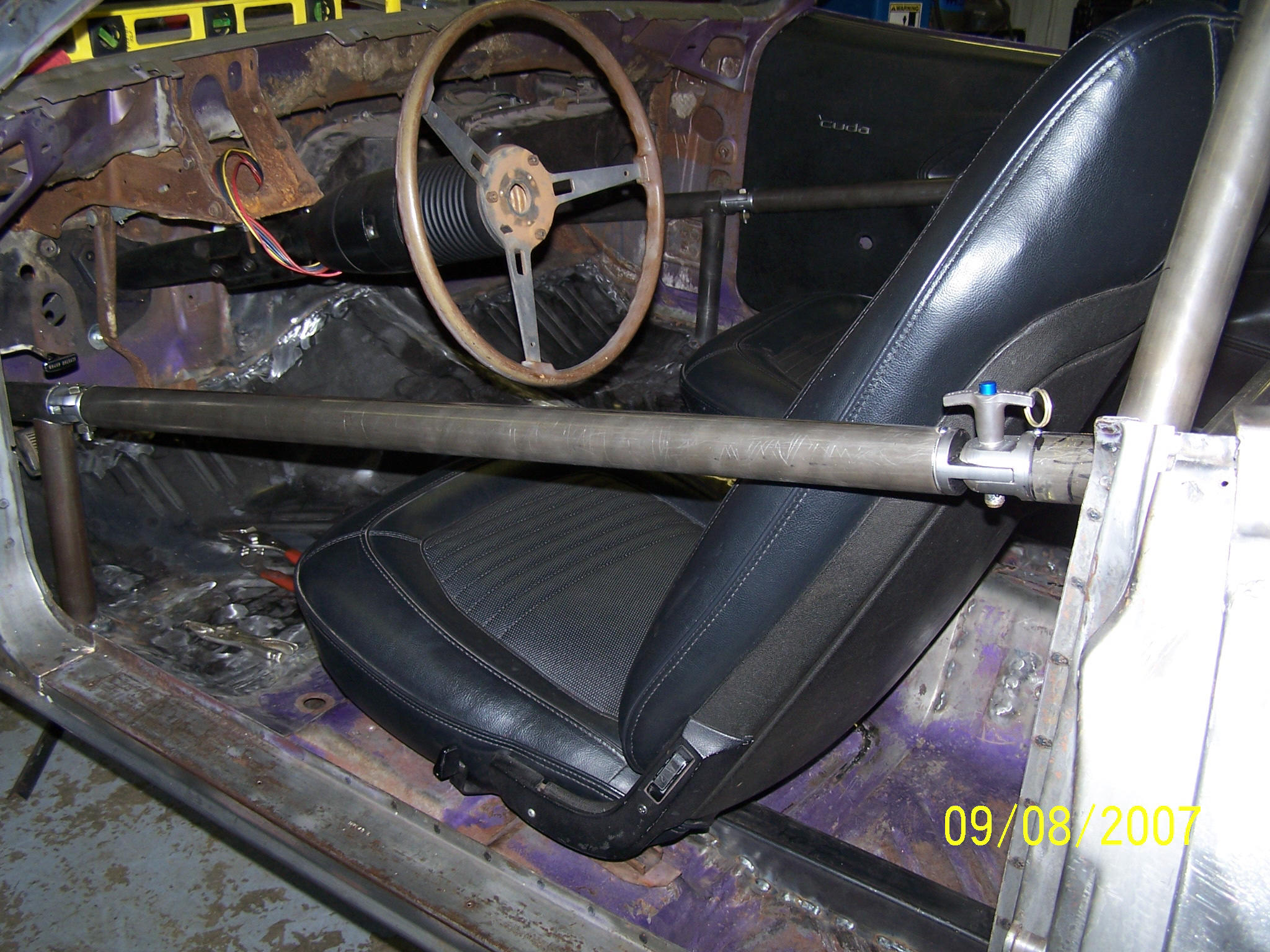 Roll Cage Side Bar Swing Outs Moparts Forums