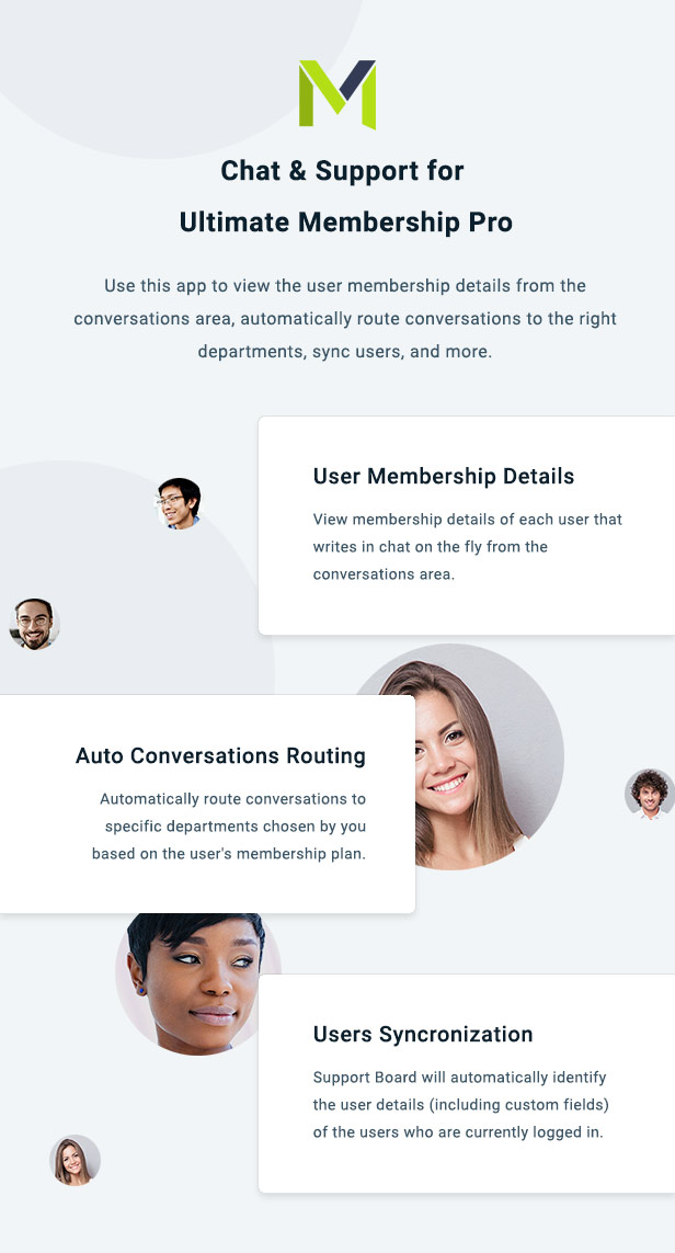 Ultimate Membership Pro Chat & Tickets App for Support Board - 3