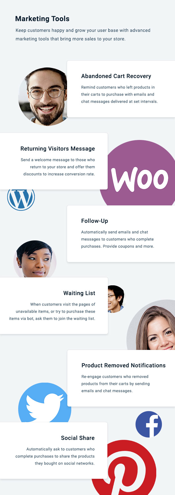 WooCommerce Chat Bot & Marketing App for Support Board - 3