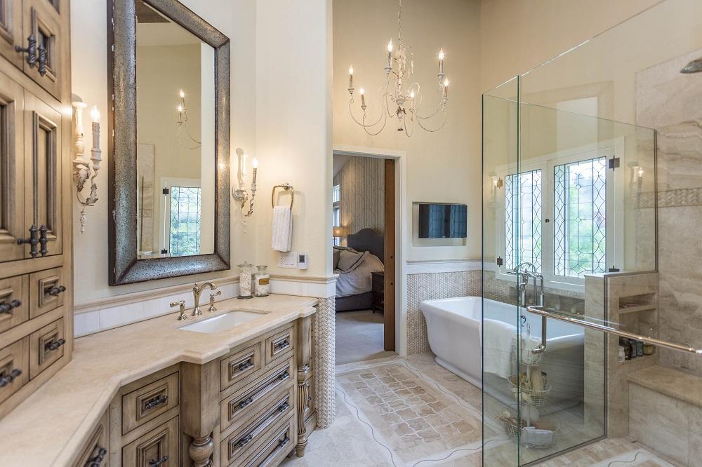 Rustic Luxe Master Bathroom Board By Board Builders
