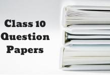 Class 10 Question Papers