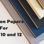 Question Papers For Class 10 and 12