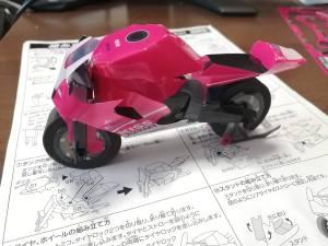 クラフトバイク 完成図