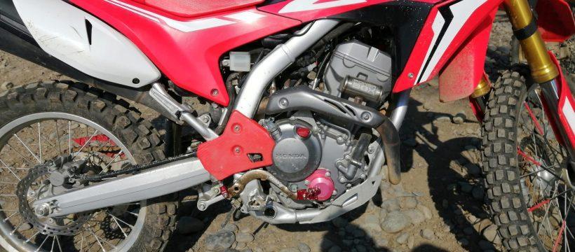 CRF250L ブレーキペダル交換後
