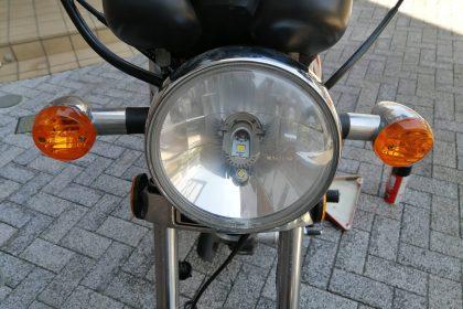 GN125-2F ヘッドライト
