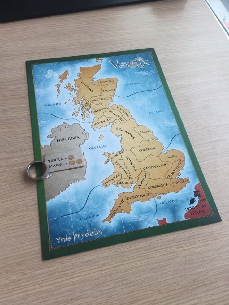 DTG - Verrix 02 map board Ynis Pridain