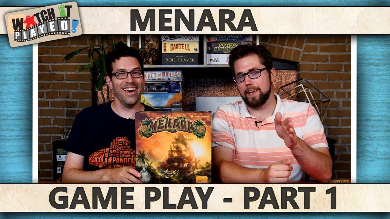 Menara Game Play (Parts 1-3) - BoardGame Stories image