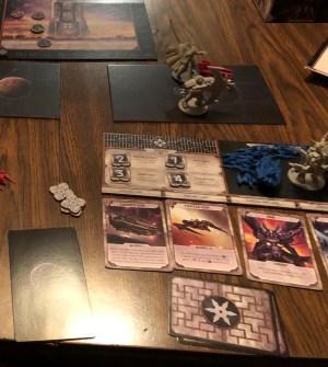 Starship Samurai end of round