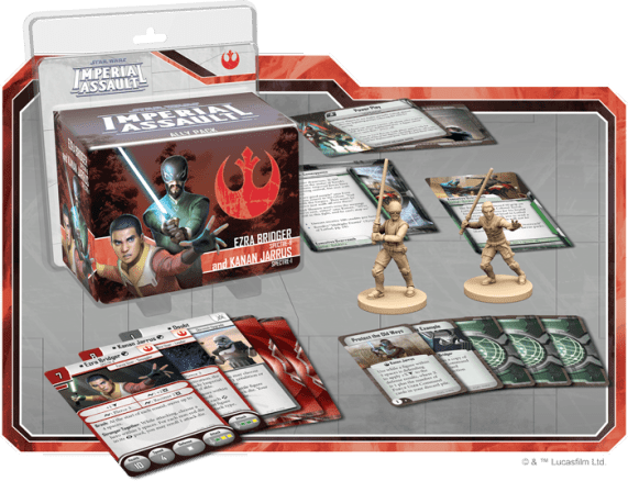 Imperial Assault Rebels Allies 3