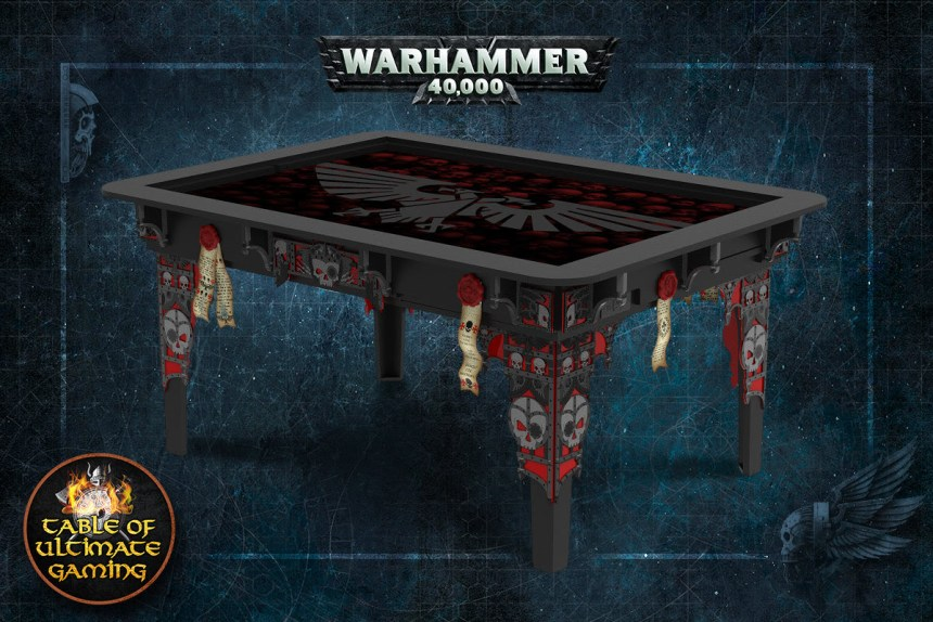 table of ultimate gaming s warhammer tables are here board game today