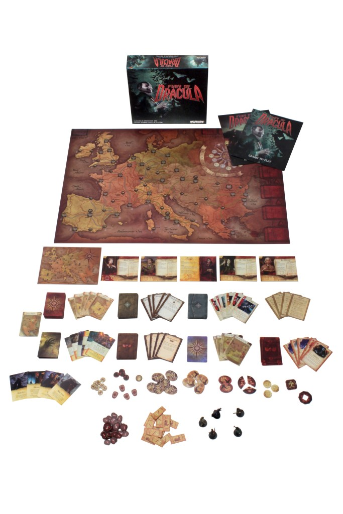 Fury of Dracula 4th Edition