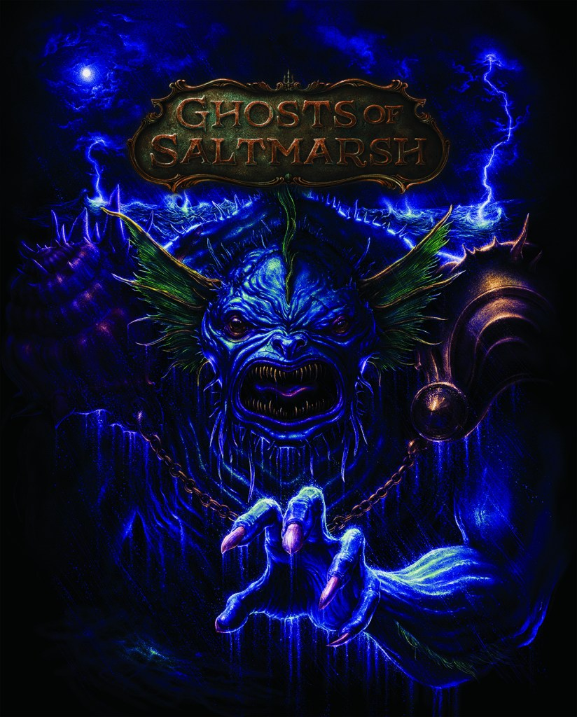 Dungeons & Dragons Ghosts of Saltmarsh Alt Cover