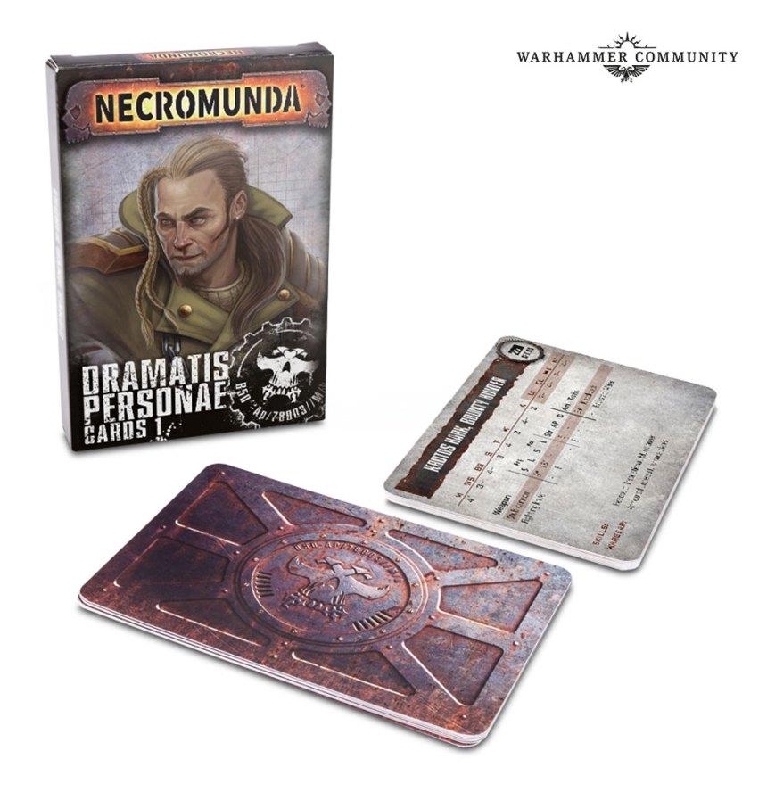 Necromunda Dramatis Personae Cards 1