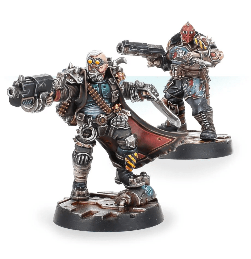 Necromunda Apollus Kage and Krotus Hark