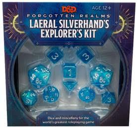 Forgotten Realms Laeral Silverhand Explorer's Kit Dice