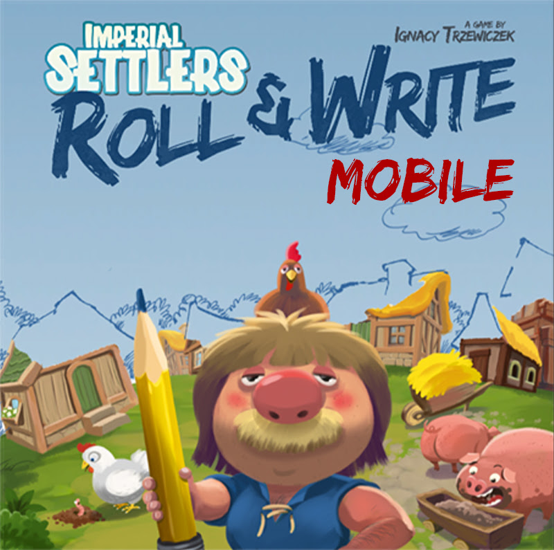 Imperial Settlers: Roll & Write App