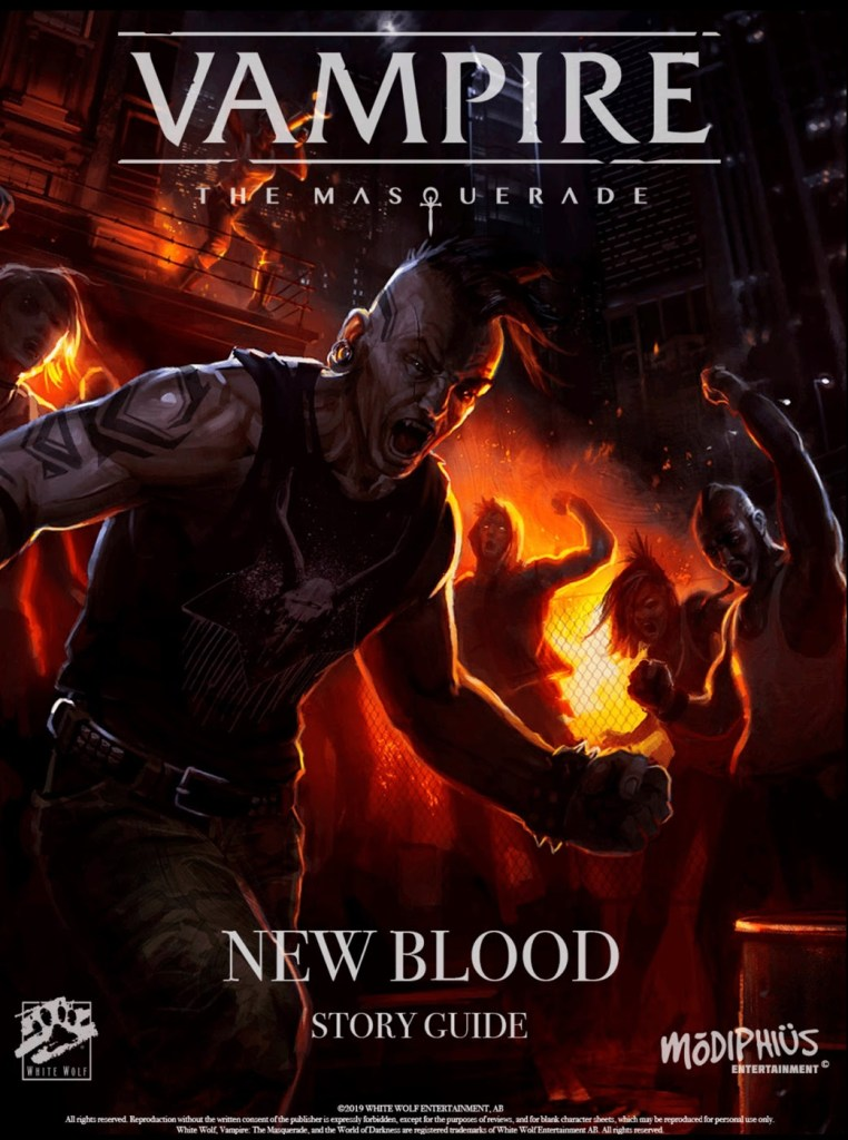 Vampire The Masquerade – New Blood Starter Pack