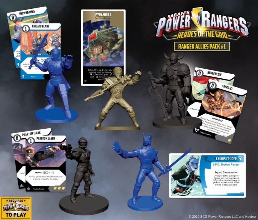 Power Rangers: Heroes of the Grid Ranger Allies Pack #1