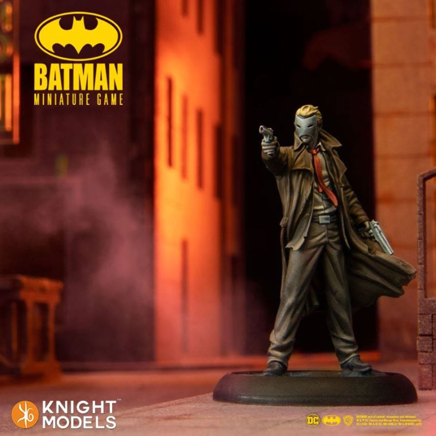 The Commissioner Batman Miniature Game