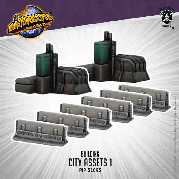 CITY ASSETS EXPANSION 1 - MONSTERPOCALYPSE BUILDING