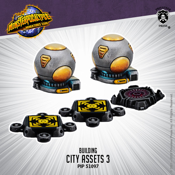 CITY ASSETS EXPANSION 3 - MONSTERPOCALYPSE BUILDING