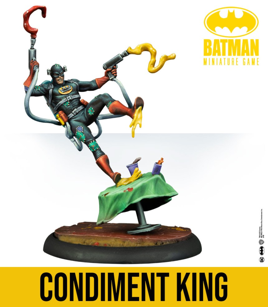 Batman Miniature Game: Condiment King