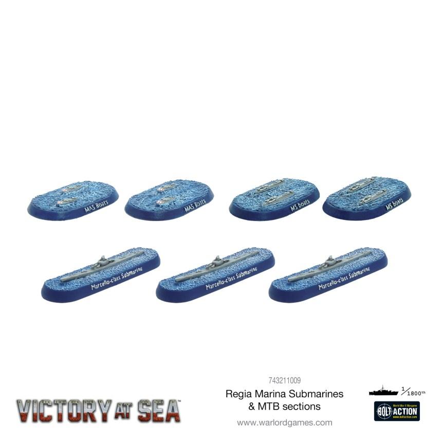 Regia Marina Submarines & MTB