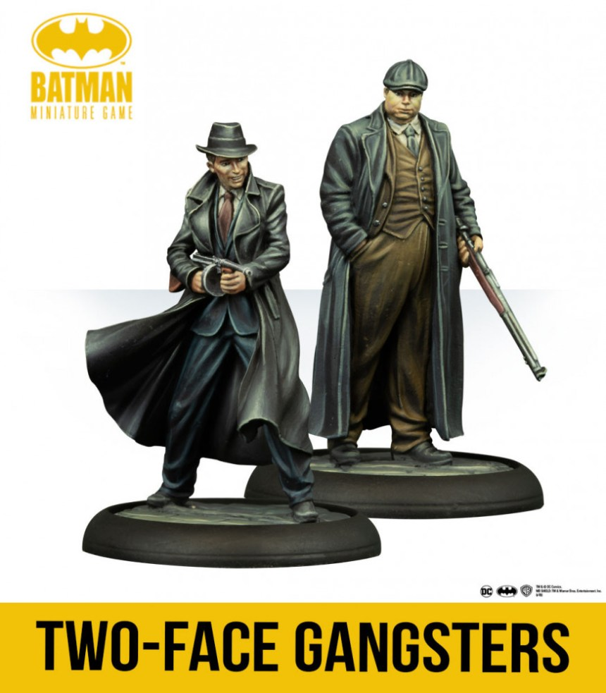 Batman Miniature Game Two-Face Gangsters