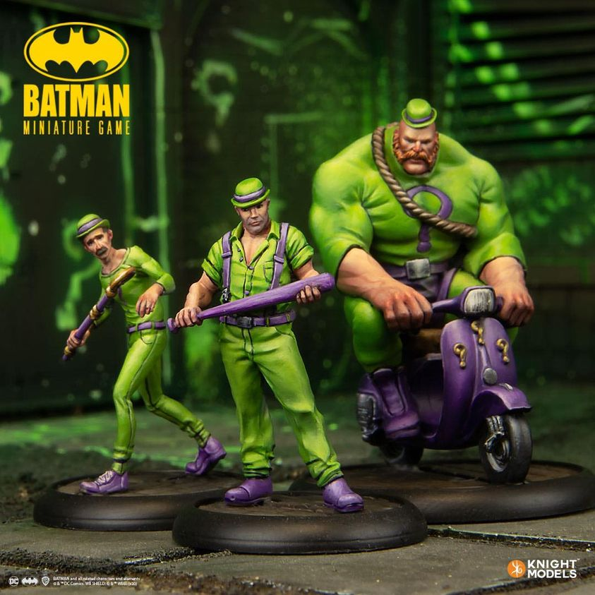 Batman Miniature Game Riddler Thugs