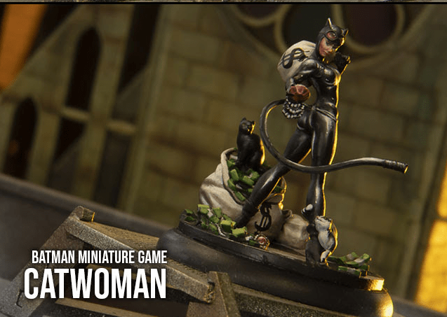 Batman Miniature Game Catwoman